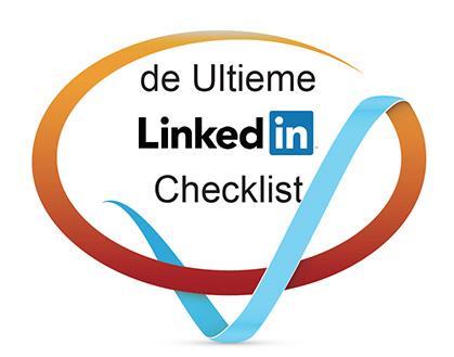 Teken met tekst de Ultieme LinkedIn checklist | Anneke van der Voort-Kruk, PRminded | Adviseur Social Media Plan | online profileren | LinkedIn trainer | voor ZZP en MKB | Bavel, Breda, Tilburg