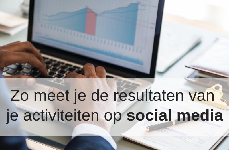 De resultaten van je social media activiteiten kun je meten, zoals dit scherm met grafieken laat zien.| Anneke van der Voort-Kruk, PRminded | Adviseur Social Media Plan | online profileren | LinkedIn trainer | voor ZZP en MKB | Bavel, Breda, Tilburg