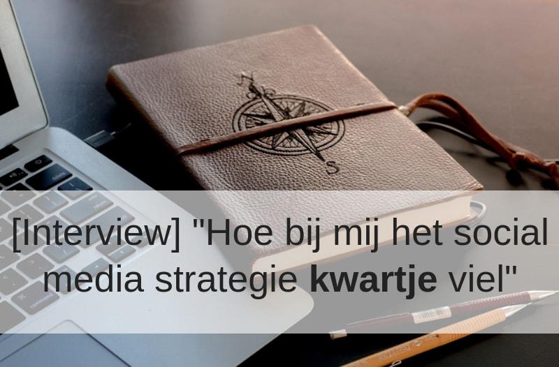 Afbeelding van een laptop en notitieblokje bij blog 'Hoe bij mij het social media kwartje viel' | Anneke van der Voort-Kruk, PRminded | Adviseur Social Media Plan en Strategie | LinkedIn trainer | voor ZZP en MKB | Bavel, Breda, Tilburg