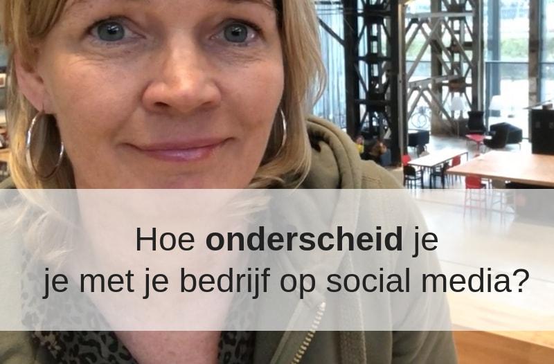 Foto van Anneke van der Voort in de Lochal in Tilburg ten behoeve van blog 'Hoe onderscheid je je met je bedrijf op social media. | Anneke van der Voort-Kruk, PRminded | Adviseur Social Media Plan | online profileren | LinkedIn trainer | voor ZZP en MKB | Bavel, Breda, Tilburg
