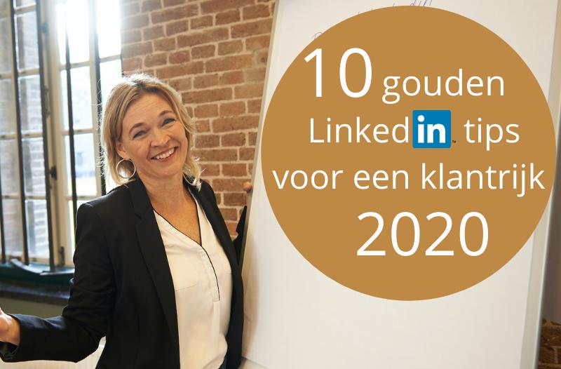10 gouden LinkedIn tips voor een klantrijk 2020 - foto met Anneke van der Voort | PRminded | LinkedIn trainer & personal branding coach in Bavel, Breda & Tilburg