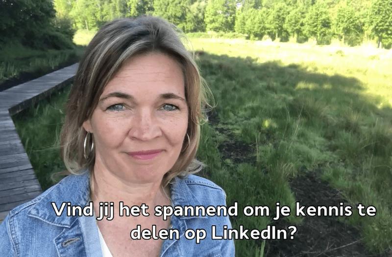 Foto Anneke Van Der Voort Bij Blog: Zo Krijg Je Meer Lef Om Je Kennis Te Delen Op LinkedIn | LinkedIn Trainer & Personal Branding Op LinkedIn | PRminded | Bavel, Breda, Tilburg
