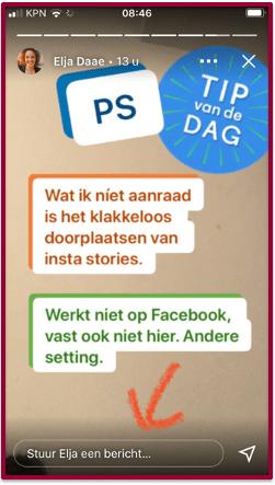 Story van Elja Daae | PRminded, Anneke van der Voort | LinkedIn trainer & personal branding op LinkedIn | Bavel, Breda, Tilburg