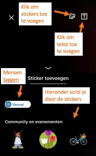 Afbeelding die laat zien waar je wat toe voegt met LinkedIn stories | PRminded, Anneke van der Voort | LinkedIn trainer & personal branding op LinkedIn | Bavel, Breda, Tilburg