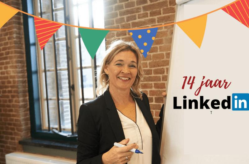 14 Jaar Op LinkedIn. 14 Netwerktips Om Dit Te Vieren | PRminded | LinkedIn Trainer, LinkedIn Expert | Bavel, Breda, Tilburg | Personal Branding Op LinkedIn